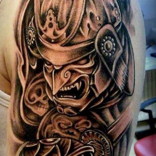 Dangerous Samurai Tattoo