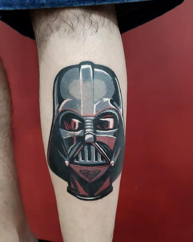 Darth Vader Tattoo Art