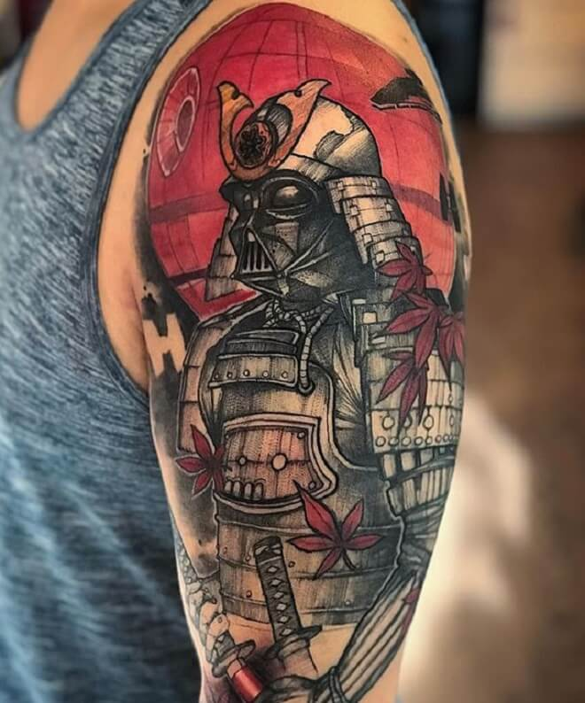 Darth Vader Tattoo for Men