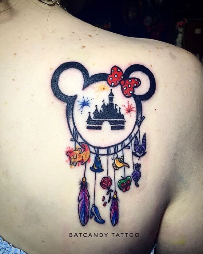 Disney Tattoo Art