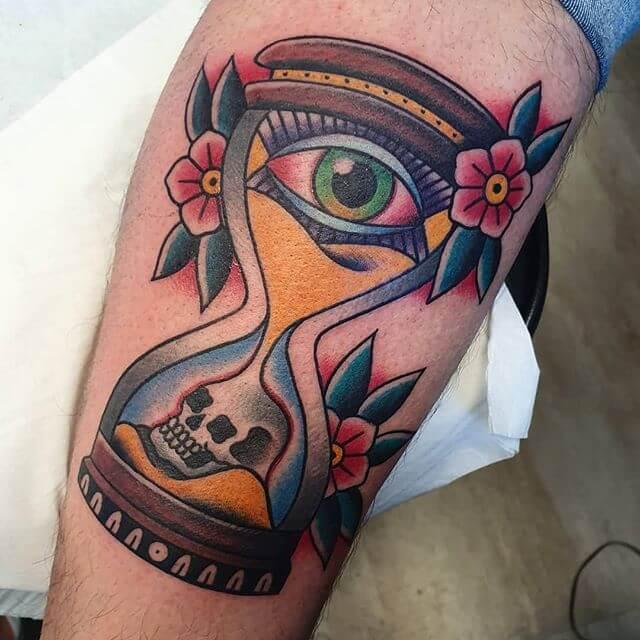 Eye Traditional Tattoo
