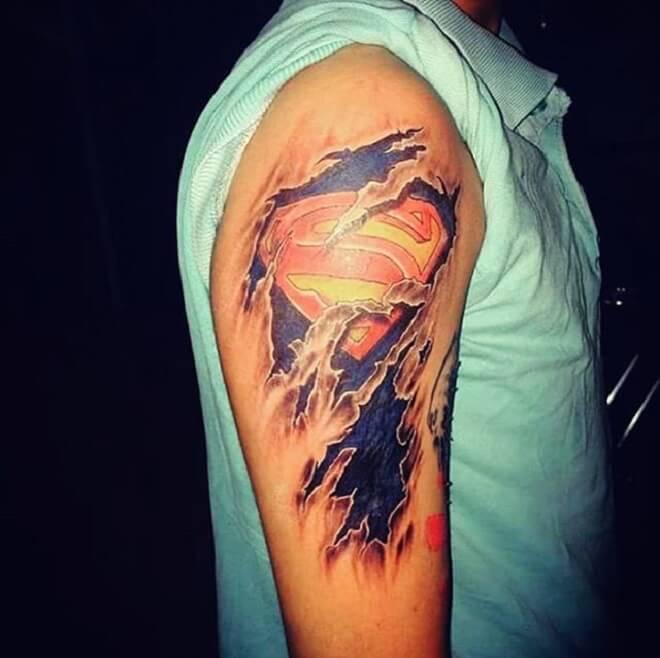 Finest Superman Tattoo