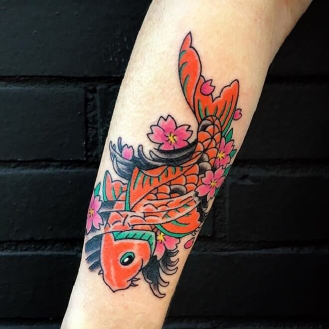 Fish Colorful Tattoo