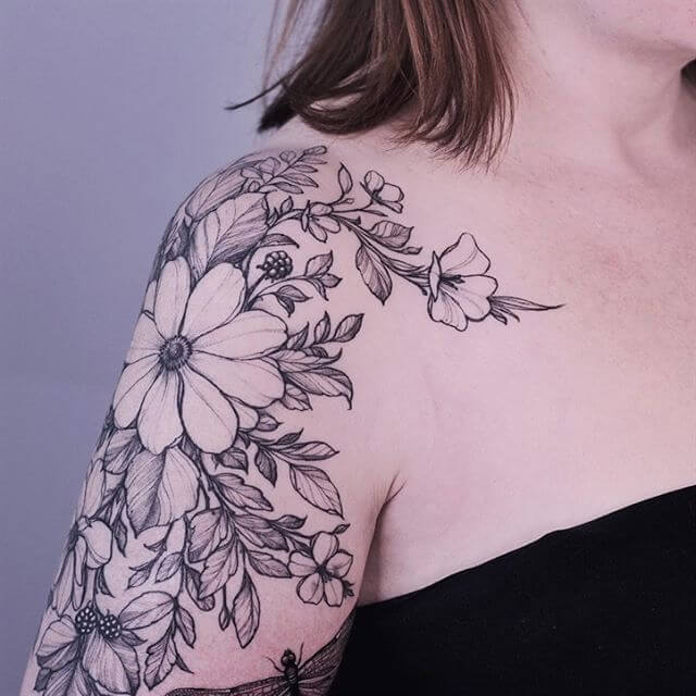 Flower Traditional Tattoo