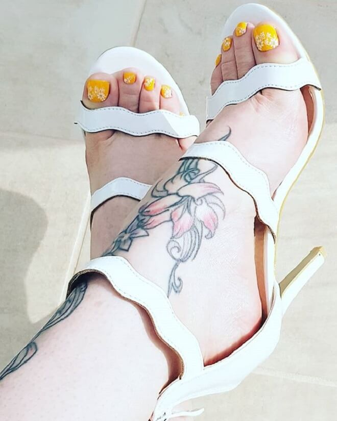 Foot Tattoo for Women