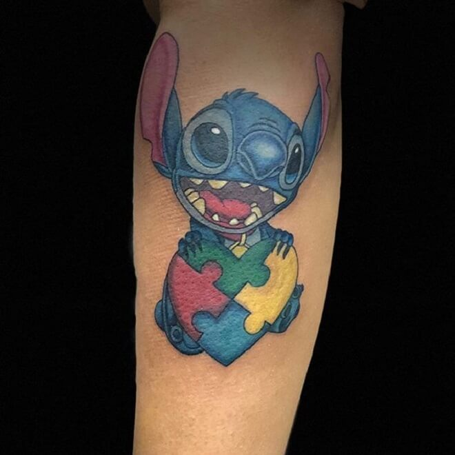 Funny Disney Tattoo