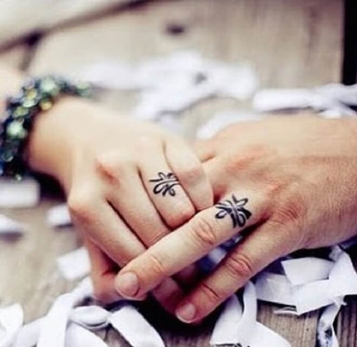 Top 30 Wedding Ring Tattoos | Sweet Wedding Ring Tattoo Designs