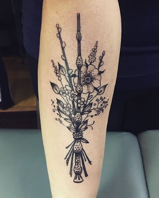 Hand Harry Potter Tattoo