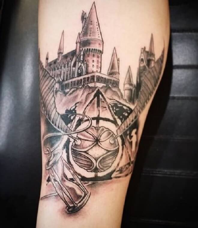 Harry Potter Tattoo Designs