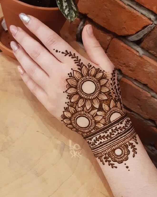 Hand Temporary Tattoo
