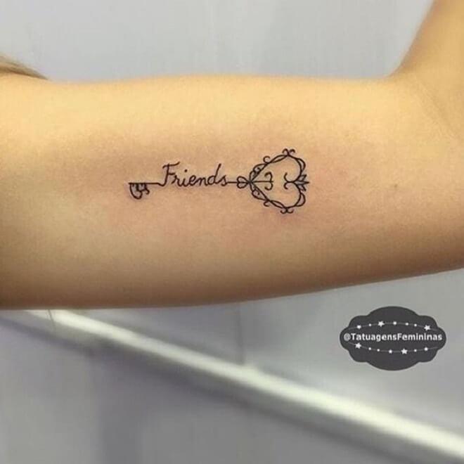 Key Tattoo for Women