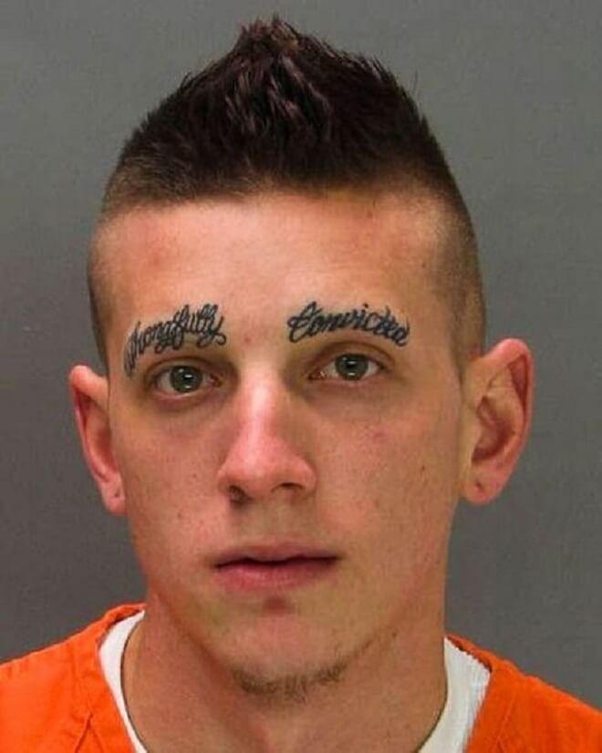 No Eyebrows Tattoo
