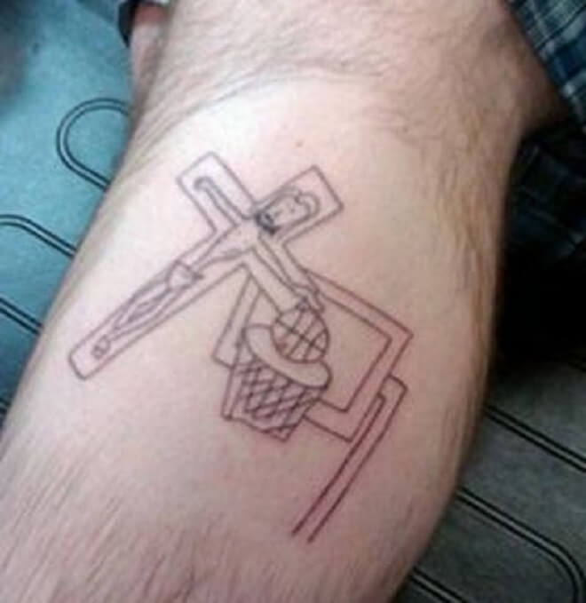 Nothing But Net Tattoo