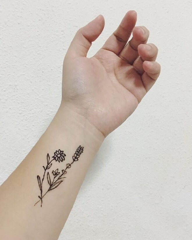 Popular Temporary Tattoo