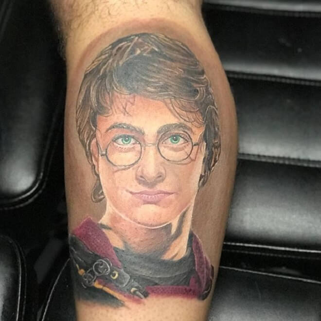 Real Harry Potter Tattoo