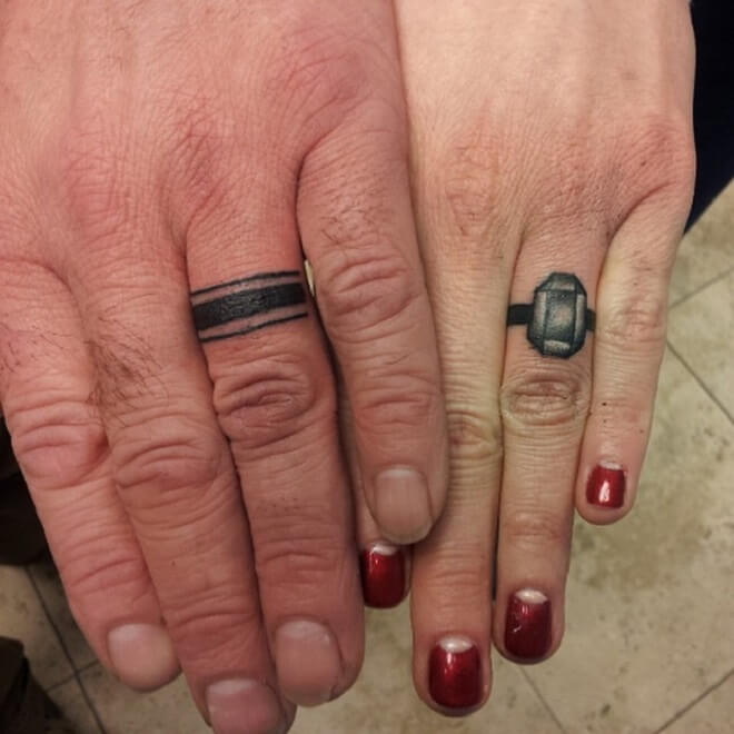 Ring Tattoo for Men and Women