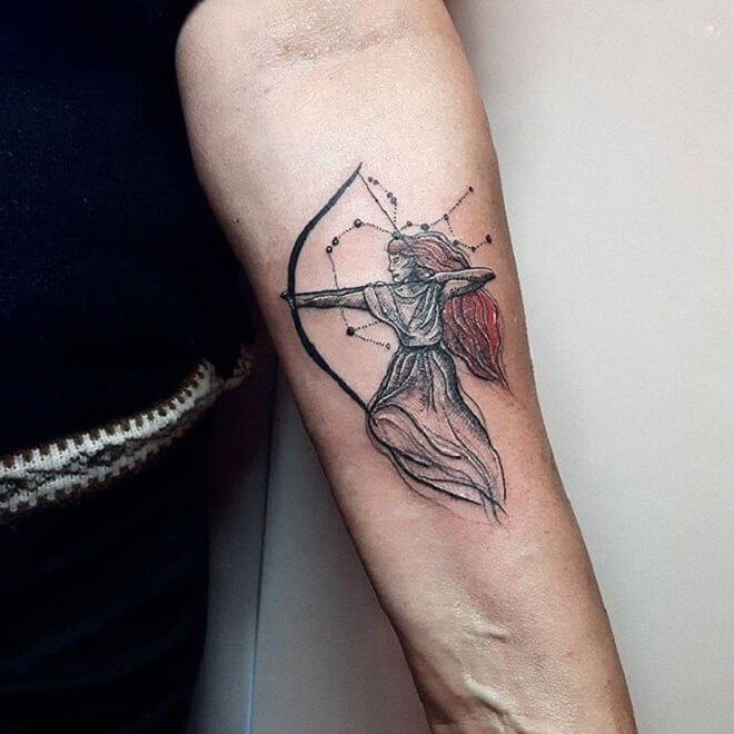 Top 30 Sagittarius Tattoos Amazing Sagittarius Tattoo Designs Ideas