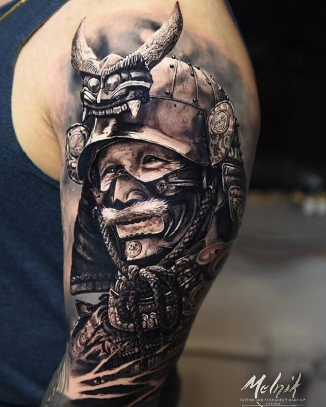 Samurai Japanese Tattoo