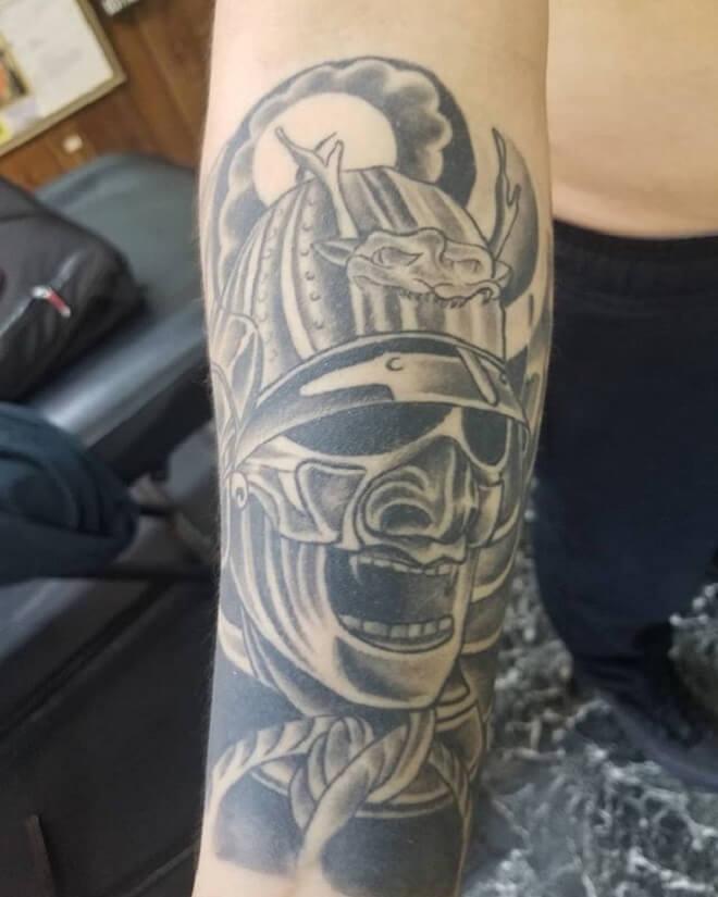 Samurai Tattoo Artist