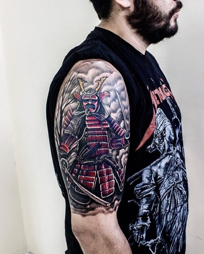 Samurai Tattoo Designs