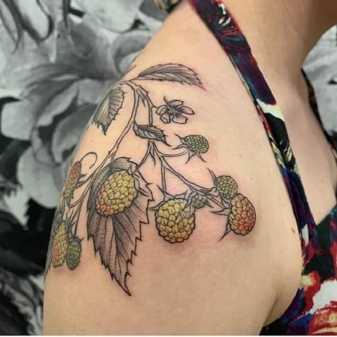 Seattle Shoulder Tattoo
