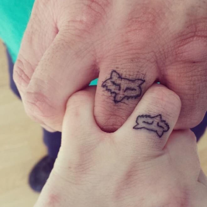 Sem Couple Ring Tattoos