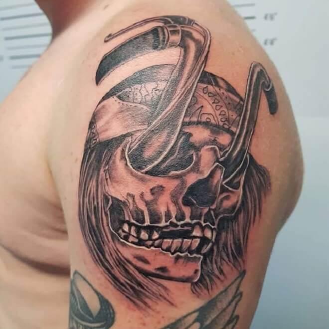 Shoulder Tattoo for Men