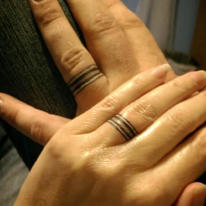 Simple Ring Tattoo