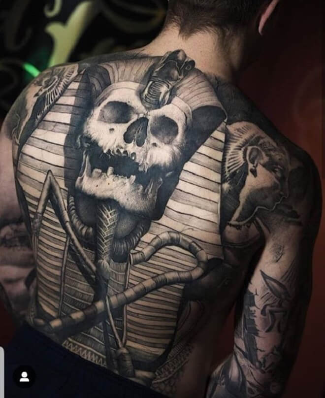 Skull Awesome Tattoo