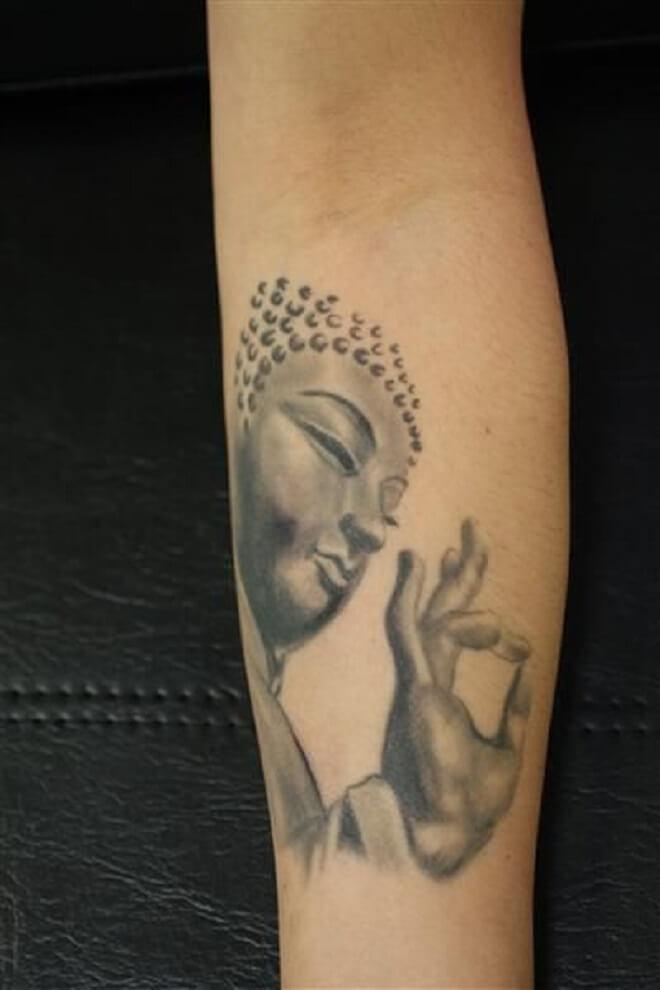 Stand Alone Buddha Tattoo