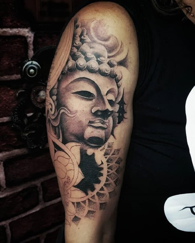 Stunning Buddha Tattoos