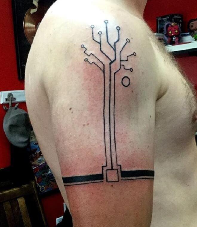 Stunning Circuit Tattoo