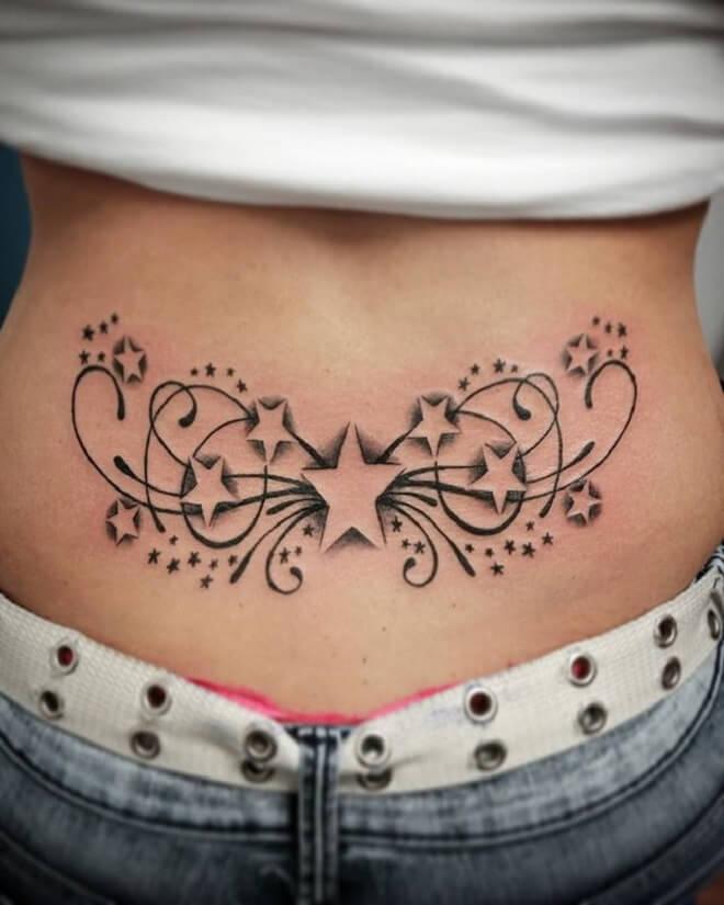 Stunning Lower Back Tattoo
