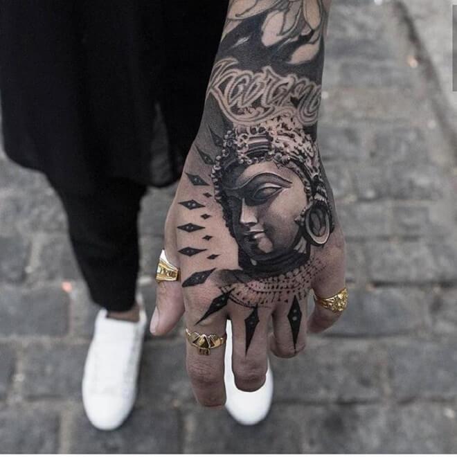 Super Buddha Tattoo