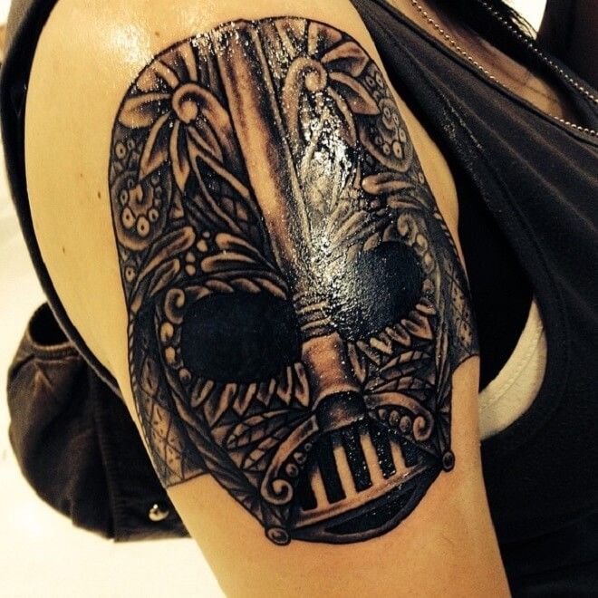 Super Darth Vader Tattoo