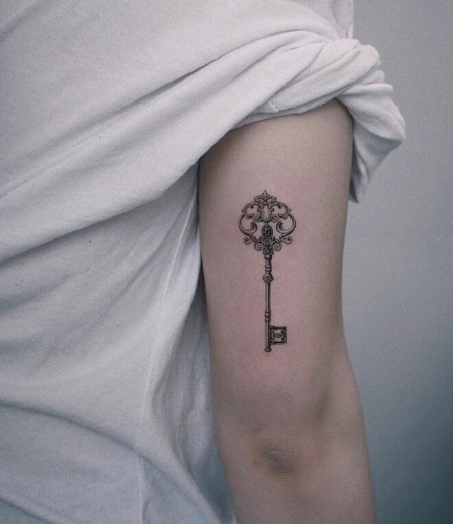 Super Key Designs Tattoo