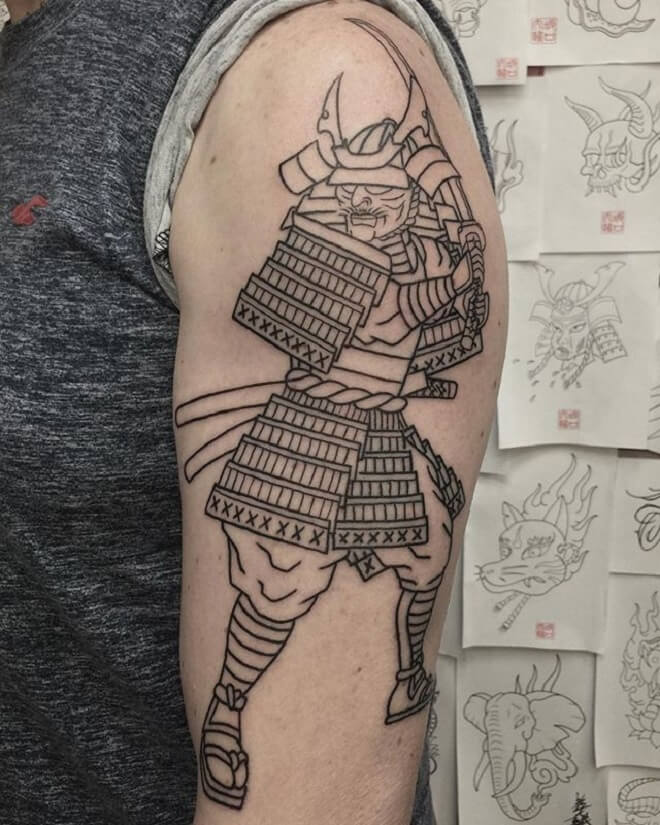 Supreme Samurai Tattoo