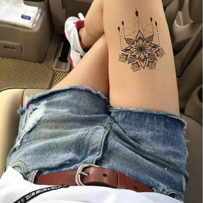 Supreme Temporary Tattoo