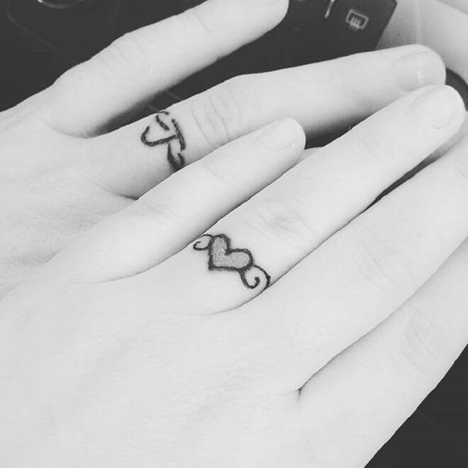 Supreme Wedding Ring Tattoo