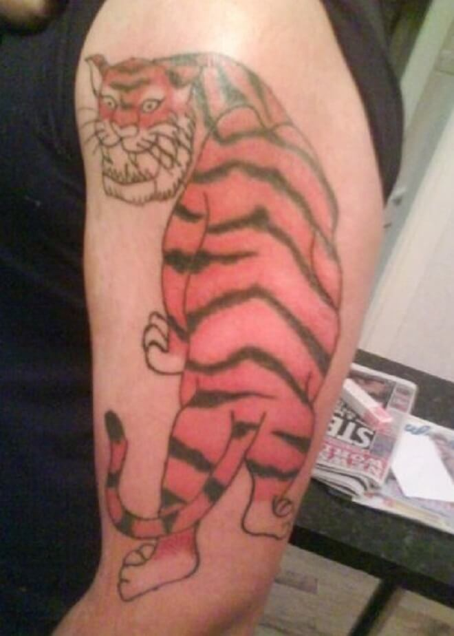 Tony the Tiger Tattoo