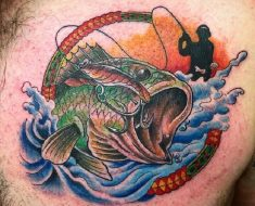 Top Fishing Tattoo