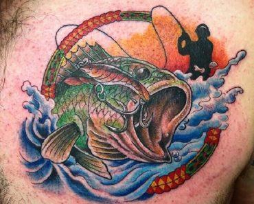 Top Fishing Tattoo