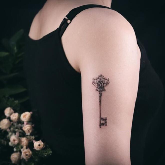 Top Key Tattoo