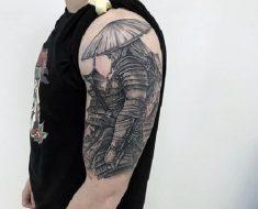 Top Samurai Tattoo