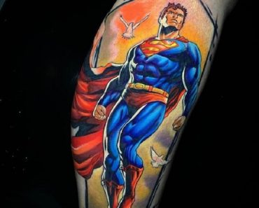 Top Superman Tattoo