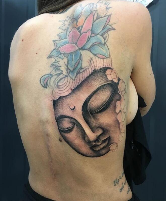 Traditional Buddha Tattoos