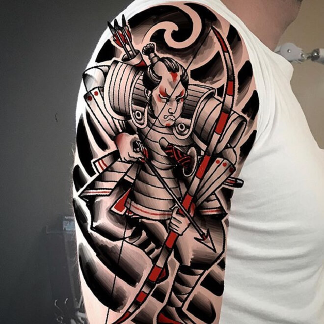 Traditional Samurai Tattoo
