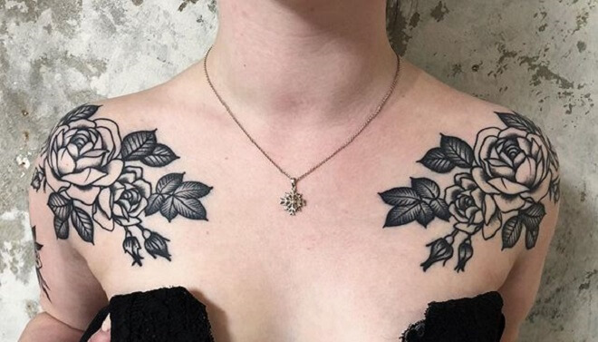 Traditional Shoulder Tattoo