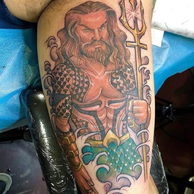 Aquaman Tattoo
