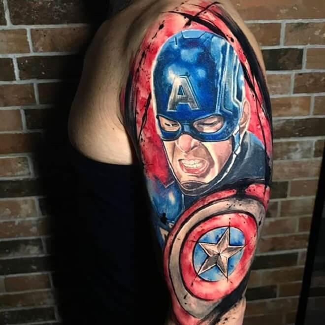 Avengers Endgame Tattoo